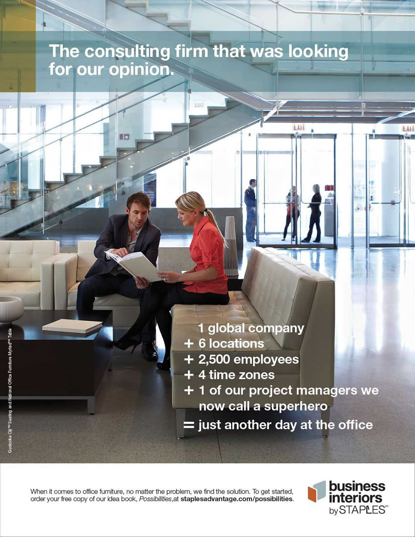 Business Interiors By Staples Usa Locations